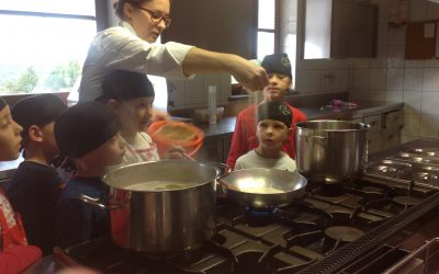 Otroci kuhajo